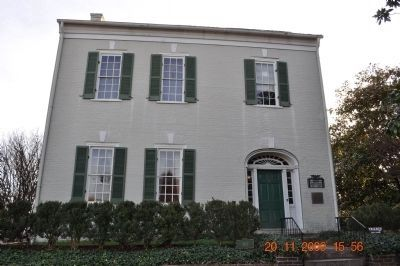 Ancestral Home of James Knox Polk image. Click for full size.