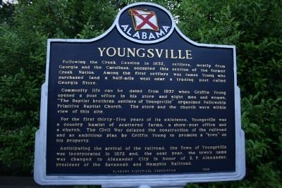 Youngsville Marker image. Click for full size.