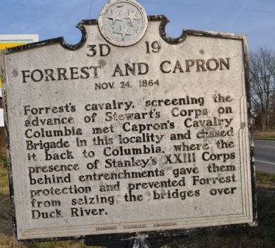 Forrest and Capron Marker image. Click for full size.