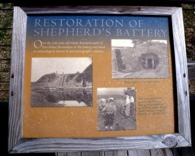 Restoration of Shepherd's Battery Marker image. Click for full size.
