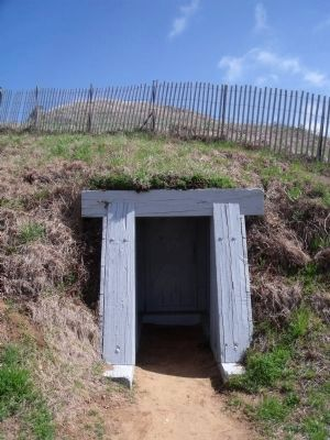 Restored tunnel entrance image. Click for full size.