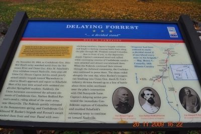 Delaying Forrest Marker image. Click for full size.