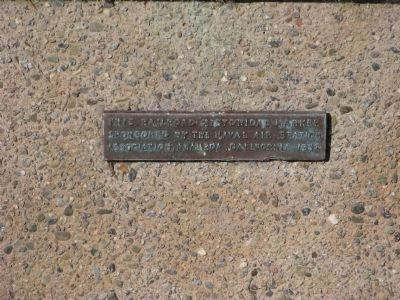 The 1st Transcontinental Railroad Lower Plaque image. Click for full size.