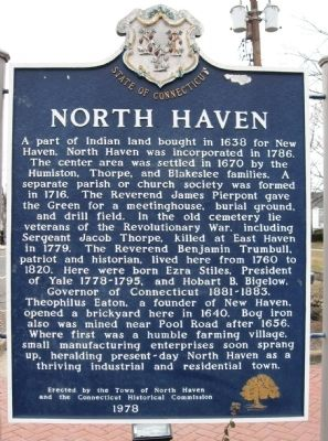 North Haven Marker image. Click for full size.
