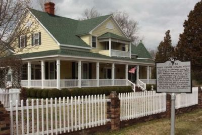 Marie Cromer Seigler House and Marker image. Click for full size.