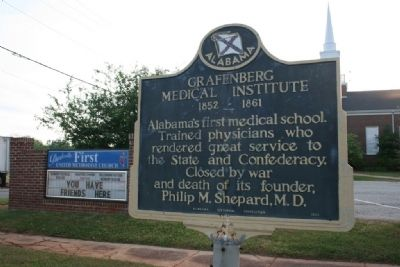 Grafenberg Medical Institute Marker image. Click for full size.