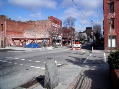 S Front St & Dock St (facing north) image. Click for full size.