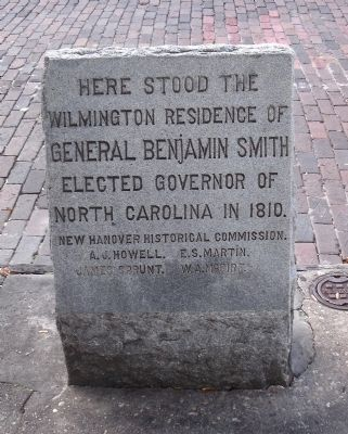 General Benjamin Smith Marker image. Click for full size.
