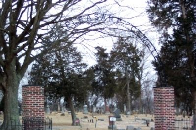 Mount Pleasant Cemetery Entrance image. Click for full size.