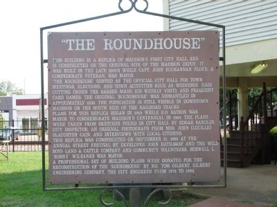 """The Roundhouse"" Marker image. Click for full size."