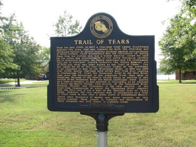Trail of Tears Marker image. Click for full size.