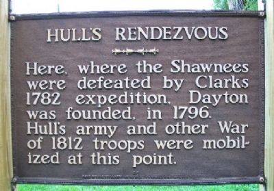 Hull's Rendezvous Marker image. Click for full size.