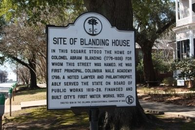 Site of Blanding House Marker image. Click for full size.