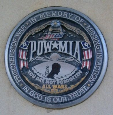VFW Post 7079 POW/MIA Memorial image. Click for full size.