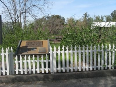 Ardenwood Historic Farm / George Washington Patterson Ranch Marker and Plaques image. Click for full size.