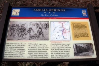 Amelia Springs CWT Marker image. Click for full size.