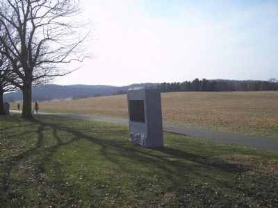 Marker in Valley Forge image. Click for full size.