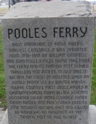 Poole's Ferry Marker image. Click for full size.