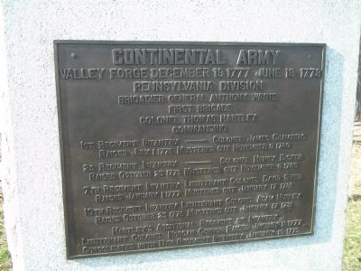 Pennsylvania Division Marker image. Click for full size.
