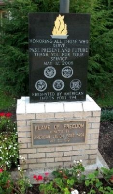 Flame of Freedom Memorial image. Click for full size.