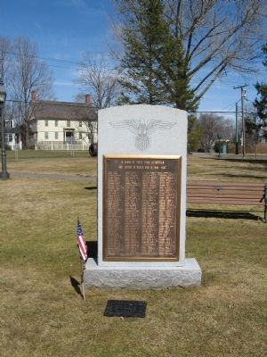 Litchfield World War II Monument image. Click for full size.