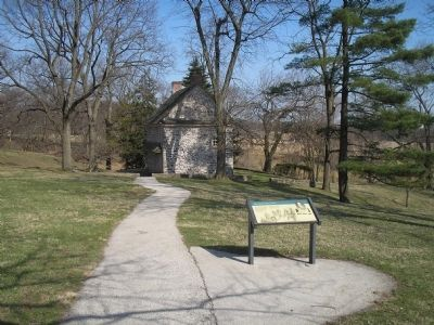 Stephens' House and Varnum's Quarters Marker image. Click for full size.