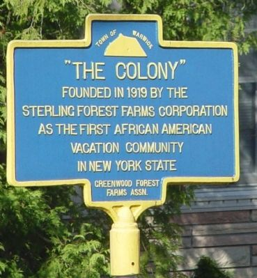 """The Colony"" Marker image. Click for full size."
