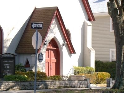 St. Mark's Episcopal Church Entrance image. Click for full size.