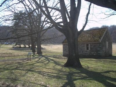 Schoolhouse and Marker image. Click for full size.