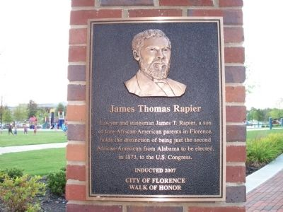 James Thomas Rapier Marker image. Click for full size.