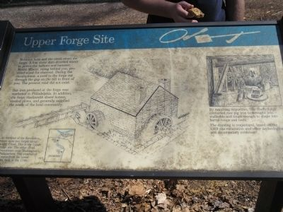 Upper Forge Site Marker image. Click for full size.