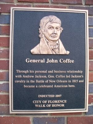General John Coffee Marker image. Click for full size.