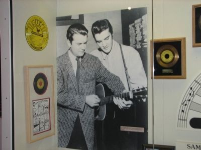 Samuel Cornelius Phillips and Elvis Presley image. Click for full size.