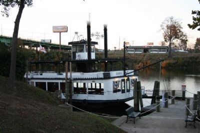 Bama Belle Riverboat Dock image. Click for full size.