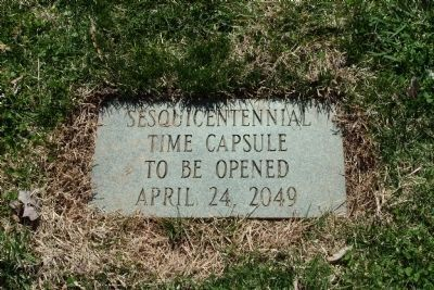 Alamance County Sesquicentennial Time Capsule image. Click for full size.