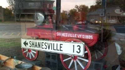 Shanesville Memorial Display image. Click for full size.