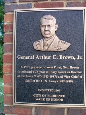 General Arthur E. Brown Marker image. Click for full size.