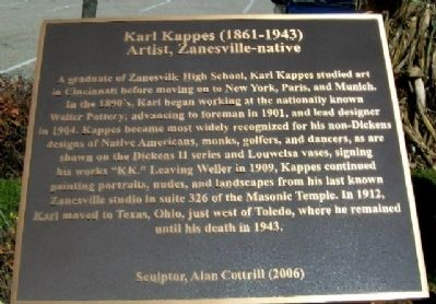 Karl Kappes Marker image. Click for full size.