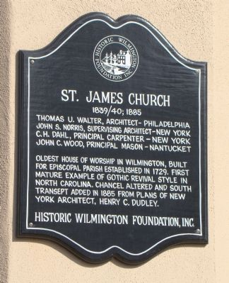 St. James Church Marker image. Click for full size.