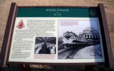 Steel Coach Marker image. Click for full size.