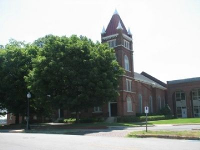 First Presbyterian Church (1818) image. Click for full size.