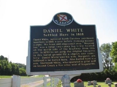 Daniel White Marker image. Click for full size.