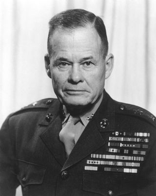 "Lt. Gen. Lewis Burwell ""Chesty"" Puller image. Click for full size."