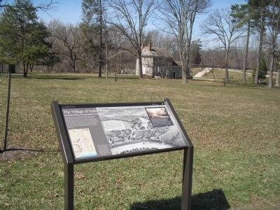 Marker in the Valley Forge Headquarters Complex image. Click for full size.
