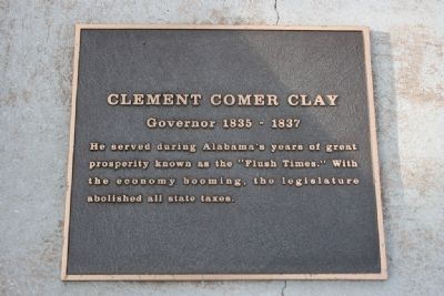 Clement Comer Clay Marker image. Click for full size.