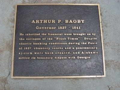 Arthur P. Bagby Marker image. Click for full size.