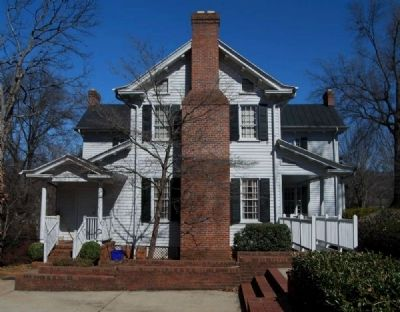 Kilgore-Lewis House -<br>South Facade image. Click for full size.