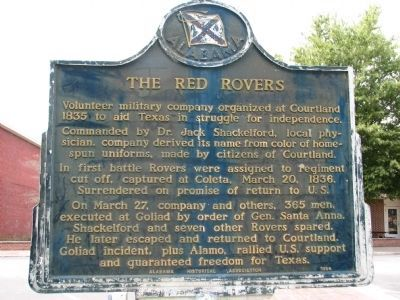 The Red Rovers Marker - Side A image. Click for full size.