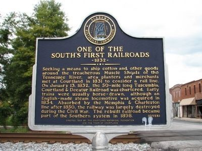 One of The South's First Railroads - Side B image. Click for full size.