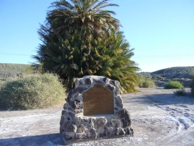 Site of Mission San Pedro Marker image. Click for full size.